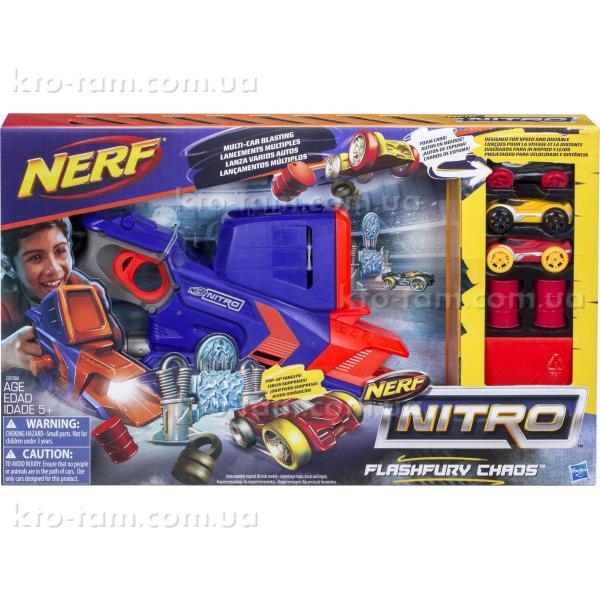 Бластер Флэшфьюри Nerf Nitro , Hasbro