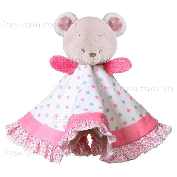 Игрушка- обнимашка одеяльце Мишка Сьюзи, BabyOno