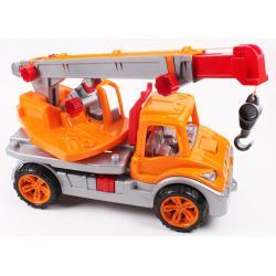 Автокран Технок, 57см, помаранчевий