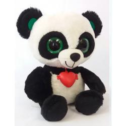 Глазастик Панда с сердечком , Fancy