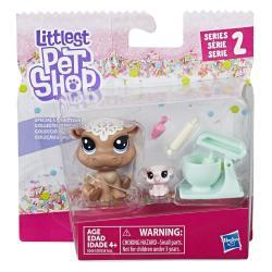 Игровой набор Два пета, Cookie Hippomont and Sugarplum Elletrunk , Littlest Pet Shop Hasbro