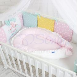 """Позиционер Baby Design Универсальный розовый, """"Маленькая Соня"""""""
