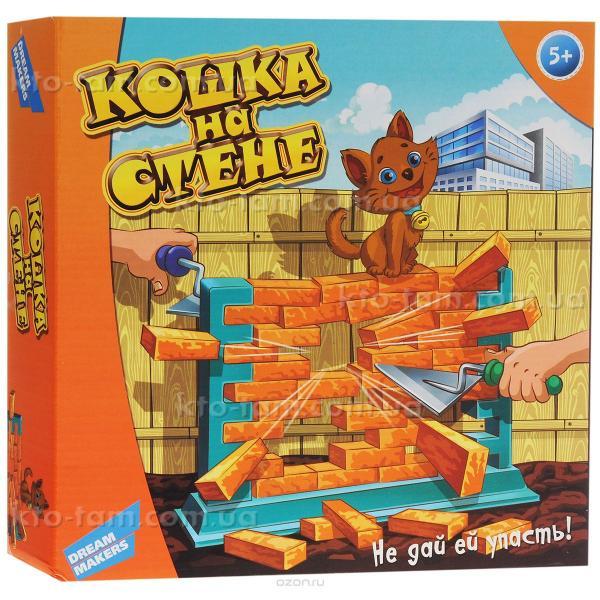 """Игра детская настольная """"Кошка на стене"""", Dream Makers"""