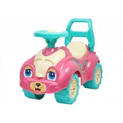 Каталка Автомобиль для прогулок ТехноК, розовый