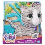 Большой питомец на поводке, Котик , Hasbro FurReal Friends оригинал