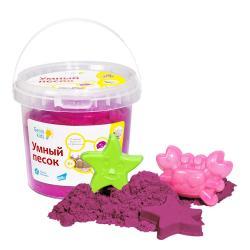 Умный песок 1 кг , Genio Kids, розовый