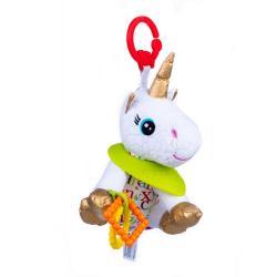 Игрушка-подвеска Единорог Белла с прорезывателем , Balibazoo