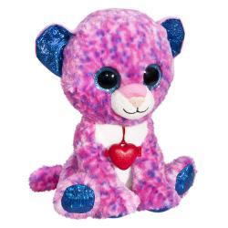 Глазастик Леопард с сердечком , Fancy