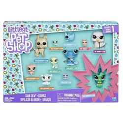 ЛПС набор коллекция петов Cabin Crew, Littlest Pet Shop Hasbro