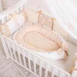 """Позиционер Baby Design Универсальный шоколадный, """"Маленькая Соня"""""""