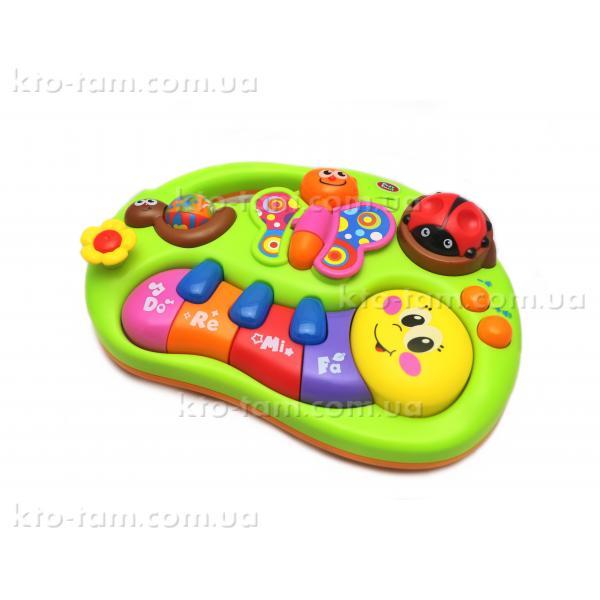 """Развивающее пианино """" Веселые жучки"""", Play Smart"""