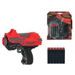 """Детское оружие """"Бластер 6-зарядный"""", Qunxing Toys"""