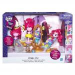 """Игровой набор мини-кукол """"Пижамная вечеринка""""Pinkie Pie Switch-a-Do Salon Set"""