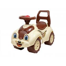 Каталка Автомобиль для прогулок ТехноК, коричневый