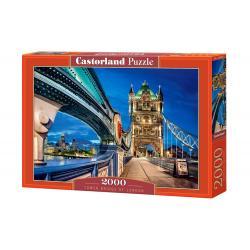 """Пазл Castorland """"2000"""" Тауэрский мост в Лондоне"""