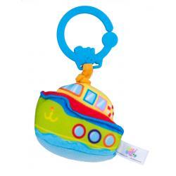"""Подвесная игрушка с вибрацией """"Лодка"""", Balibazoo"""