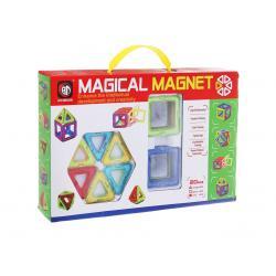 Магнитный конструктор, 20 деталей, Qunxing Toys