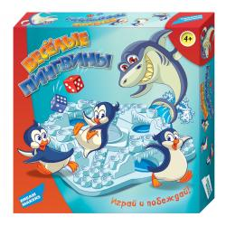 """Гра дитяча настільна """"Веселі пінгвіни"""""""