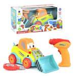 """Игровой набор """"Трактор"""" с шуруповертом, Qunxing Toys"""