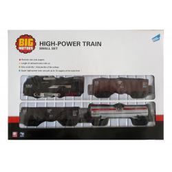 Железная дорога с 3 вагонами, Big Motors