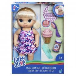 Кукла Малышка с мороженым, Baby Alive Hasbro