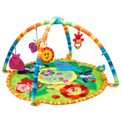 Развивающий детский коврик «Друзья из джунглей», WinFun