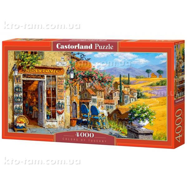Пазлы Цвета Тосканы, 4000 эл, .Castorland