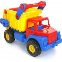 Автомобиль-самосвал №1 с резиновыми колёсами Wader - Полесье