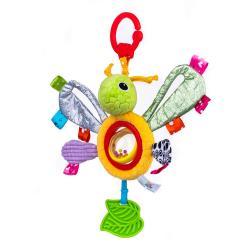 Игрушка-подвеска Бабочка Лулу с погремушкой , Balibazoo