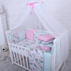 Комплект постельного белья Baby Design Премиум Flowers цветы