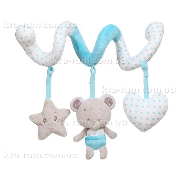 Спиральная подвеска Мишка Тони , BabyOno