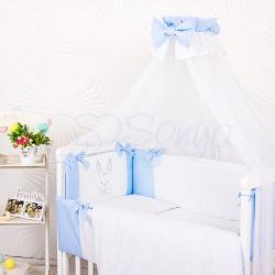 """Комплект постельного белья Smile голубой """"Маленькая Соня"""""""