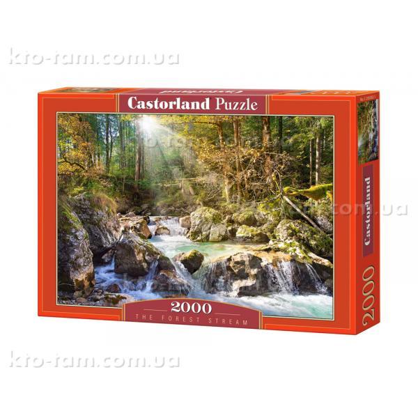 """Пазл Castorland """"2000"""" Лесной ручей"""