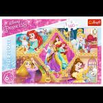 Пазлы Приключения принцесс, Trefl
