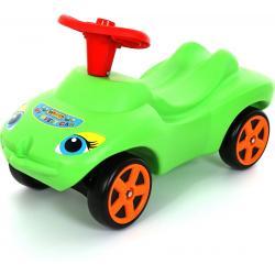 """Каталка """"Мой любимый автомобиль"""" зелёная со звуковым сигналом"""