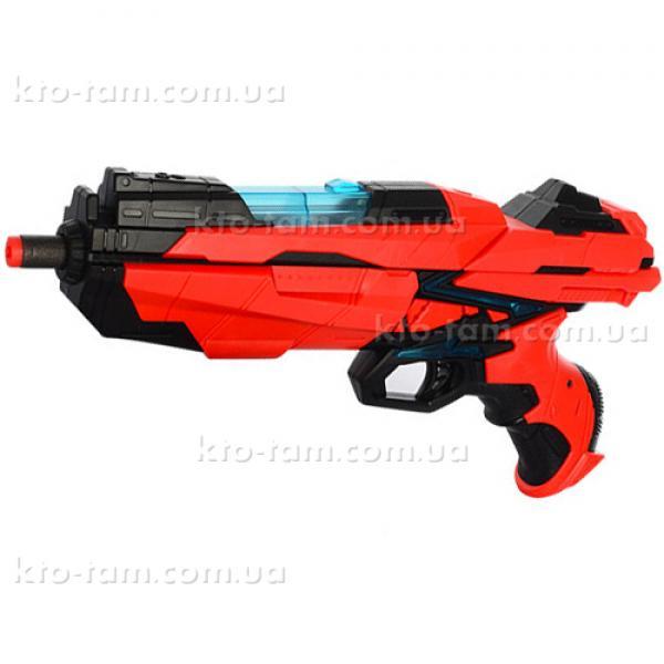 """Игрушечное оружие """"Бластер 6-зарядный"""", со светом Qunxing Toys"""