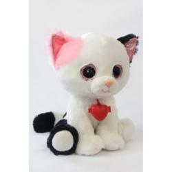 Глазастик Кот с сердечком , Fancy