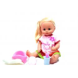 Кукла Беби Тоби Baby Toby в розовом платье