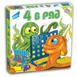 """Игра детская настольная """"4 в ряд"""", Dream Makers"""