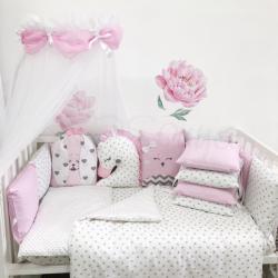 Комплект постельного белья Chudiki standart розовый
