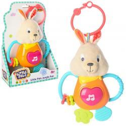 Музыкальная игрушка - подвеска Зайчик , WinFun