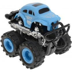 Инерционная машинка 4 WD, Big Motors, синяя