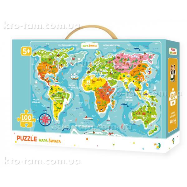 Пазлы Карта Мира, DoDo