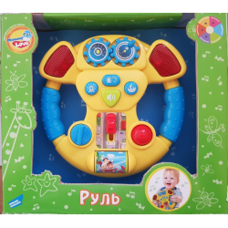 Игрушка музыкальная «Руль» желтый Mommy Love