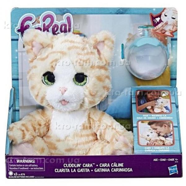 "Интерактивная игрушка ""Покорми котенка"" , Hasbro FurReal Friends оригинал"