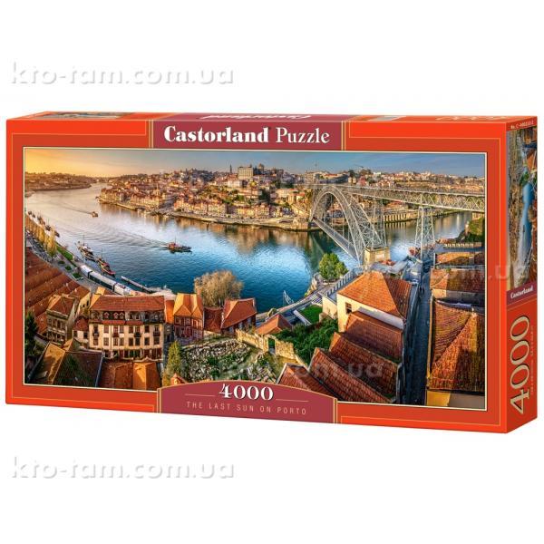 Пазлы Закат в Порту, 4000 эл, .Castorland