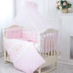 Комплект постельного белья Принцесса розовый