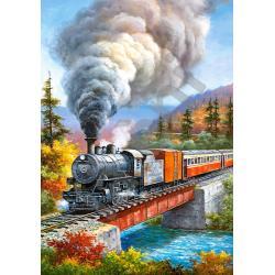 Пазл Старинный поезд, Castorland