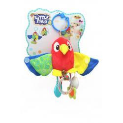 Погремушка-подвеска на коляску Попугай, WinFun