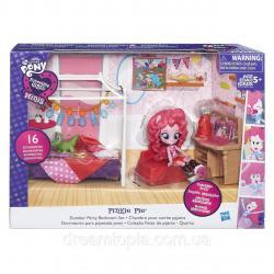 """Игровой набор мини-кукол """"Пижамная вечеринка""""Pinkie Pie Slumber Party Bedroom Set"""